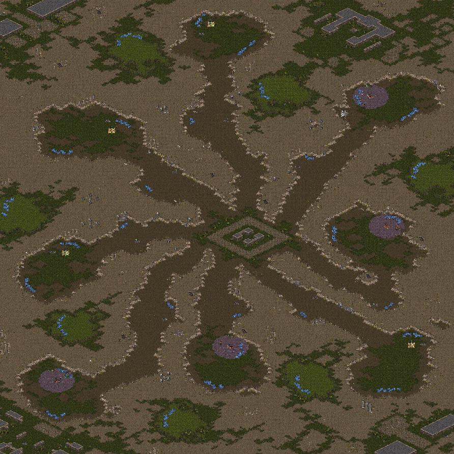 Robocop's Starcraft Page -- Maps
